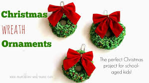 wreath ornaments munchkins and