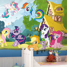 55 my little pony wall art my little pony wall stickers my little wall mural photo my little pony wallpaper interior decoration art