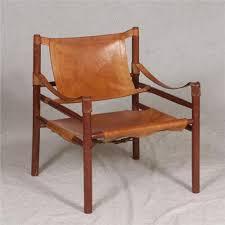 mid century leather chair danish leather safari chair man cave pinterest danish