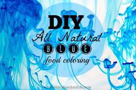 diy natural blue food coloring simple life abundant life