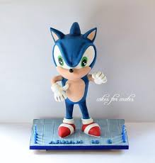 sonic the hedgehog cake topper 79 best sonic the hedgehog cakes images on sonic the