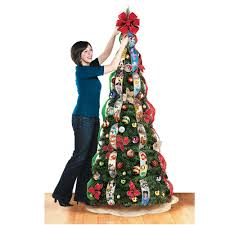 simple decoration pop up christmas tree the disney hammacher