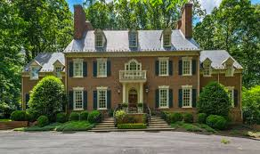 colonial home builders 2 2 million brick colonial home in mclean va homes of the rich