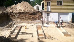 new home foundation spectrum construction new home construction phase 1c footings