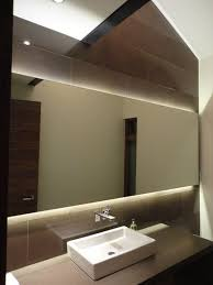 led vanity light strip led strip or panel lights strips backlight this mirror above and