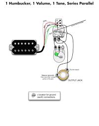 single humbucker wiring diagram single wiring diagrams collection