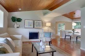 Wood Ceiling Designs Living Room Beautiful Wood Ceiling Modern Living Room Seattle By
