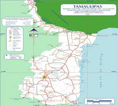 Maps De Mexico by Map Of Tamaulipas State Mexico