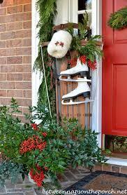Christmas Decorations For Outdoor Bench by 186 Best Christmas Outside Images On Pinterest Christmas Time