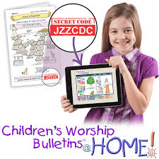 children u0027s worship bulletins electronic delivery