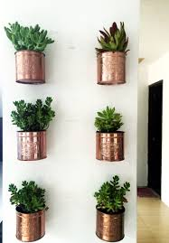 Mason Jar Wall Planter by Diy Ice Cream Tin Can Wall Planters Indoor Plants Succulents