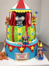 circus baby shower circus baby shower cake az cakes by elizabethaz cakes by elizabeth