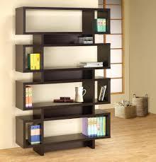 shelves vergo modern slanted bookshelf a vergo modern cappuccino