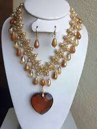 diy necklace set images Pin by crazy crafty mom on diy jewelry pinterest beads jpg