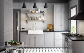 ikea kitchens ideas ikea kitchen design a country kitchen with grey inset doors black