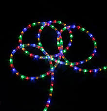 Colored Christmas Lights by 18 U0027 Multi Color Led Indoor Outdoor Christmas Lights Walmart Com