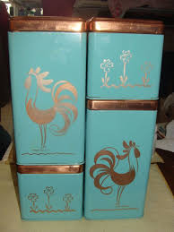 rooster kitchen canisters best 25 vintage canisters ideas on vintage kitchen