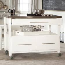 kitchen fabulous white portable kitchen island trolley unit