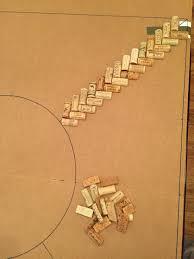 diy wine cork backed dartboard album on imgur