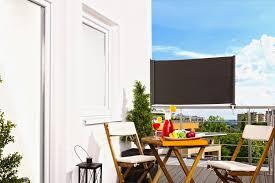 sonnenrollo f r balkon markise anthrazit balkonsichtschutz balkonverkleidung 80 x 300 cm