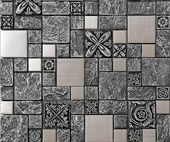 metal wall tiles kitchen backsplash stainless steel backsplash kitchen ceramic wall tiles b965 porcelain