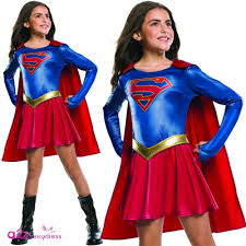 Halloween Costumes Supergirl Supergirl Supergirl Tv Series Kids Costume Supergirl