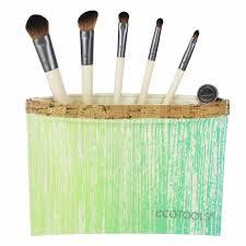 ecotools six piece essential eye set 5 brushes 1 travel bag