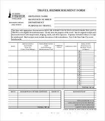 travel reimbursement form exol gbabogados co