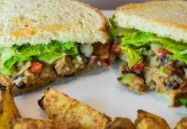 thanksgiving soy curls with vegan vegan turkey salad brand new vegan