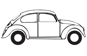 drawing of a vw bug voiture coccinelle coloriages volkswagen
