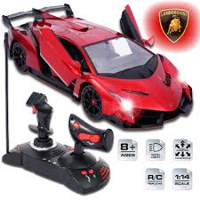 Lamborghini Veneno Red - top 10 best lamborghini rc remote control cars for adults