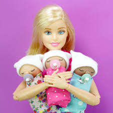mini baby barbie miniature dollhouse