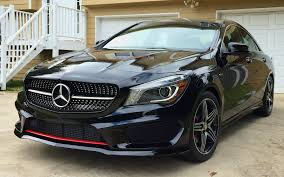 mercedes 250 black after 3 months she is finally home black on black cla250