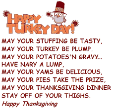 thanksgiving poem on a pretty greeting graphic