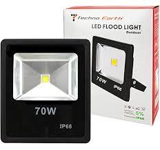 econo light landscape lighting outdoor décor techno earth 70w led spotlight flood light high power
