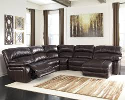 signature design by ashley damacio dark brown reclining