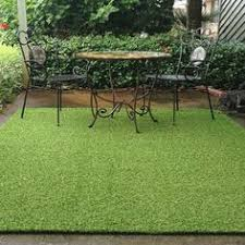 Outdoor Grass Rugs Gardening Tips For Renters Artificial Turf Outdoor Areas And