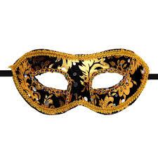 halloween classical 5 colors classical bronzing plastic mask venetian masquerade