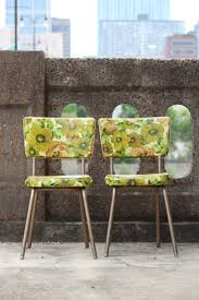 Yellow Retro Kitchen Chairs - retro kitchen chair replacement seats video and photos