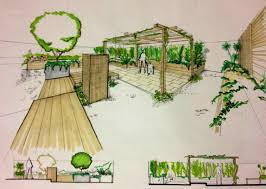 Mill Creek Landscaping by Mill Landscape Architecture Drawing Techniques Creek Ranch Ten