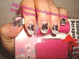 dessin sur ongle en gel deco konad nail art stamping by konad onglissimo france