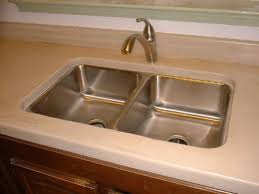 undermount sink concrete countertop kitchens and islands by crane concrete counters