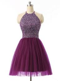cheap graduation dresses for 8th grade 2016 halter 8th grade graduation dresses purple semi