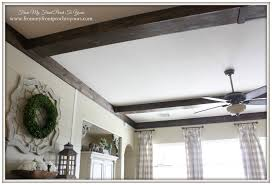 Diy Living Room by From My Front Porch To Yours How We Made Our Diy Wood Beams