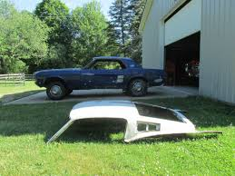 mustang fastback roof 1967 ford mustang coupe fastback roof many parts included for