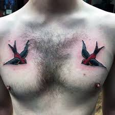 Barn Swallow Tattoo Designs 70 Traditional Swallow Tattoo Designs For Men Old Birds