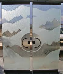 frosted glass entry doors double entry doors sans soucie art glass