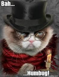 Christmas Grumpy Cat Meme - scrooged christmas grumpy cat memes loathe anger cat memes