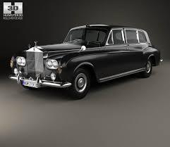 jonckheere rolls royce rolls royce phantom park ward limousine 1963 3d model hum3d