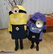Despicable Minions Halloween Costume Despicable Yellow Minion U0026 Evil Minion Costumes Kids